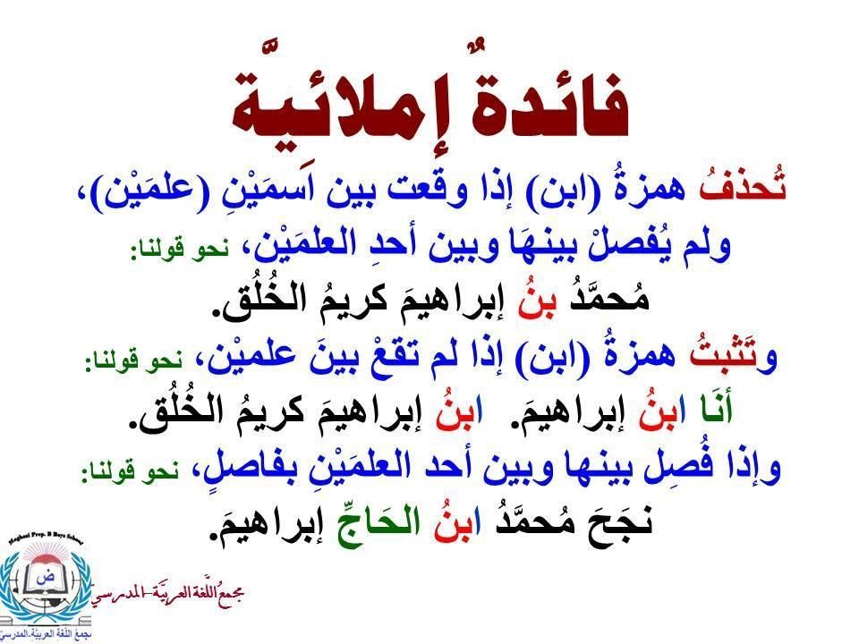 Pin By Abdulrahman Alghamdi On قواعد اللغة Learning Arabic Learn Arabic Language Arabic Language