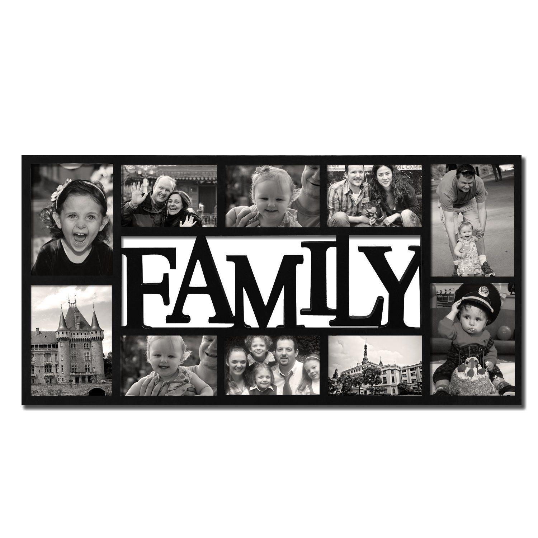 Amazon adeco 10 opening decorative plastic family collage amazon adeco 10 opening decorative plastic family collage wall hanging jeuxipadfo Image collections