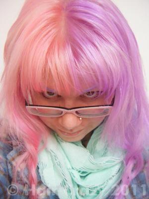 Roulla Directions Pastel Pink Lavender Crazy Color