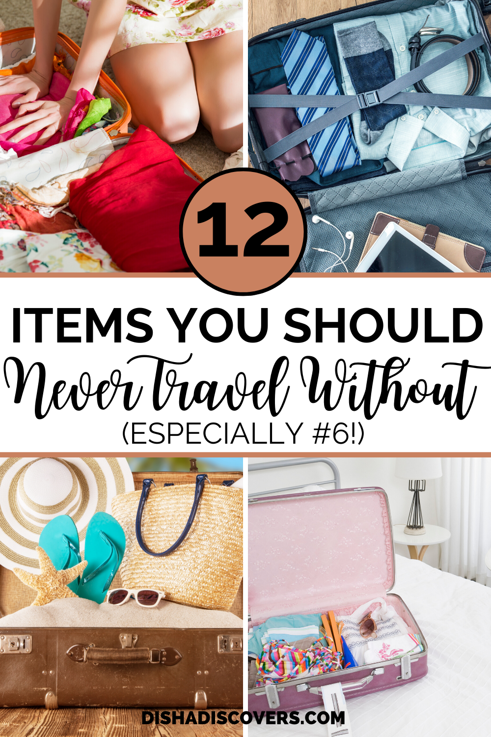 Packing Tips: 12 Not so Obvious Items You Shouldn't Travel Without