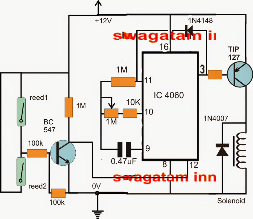 Simple Industrial Delay Timer Circuits | Electronic Circuit Projects ...