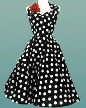 love these vintage polka dots