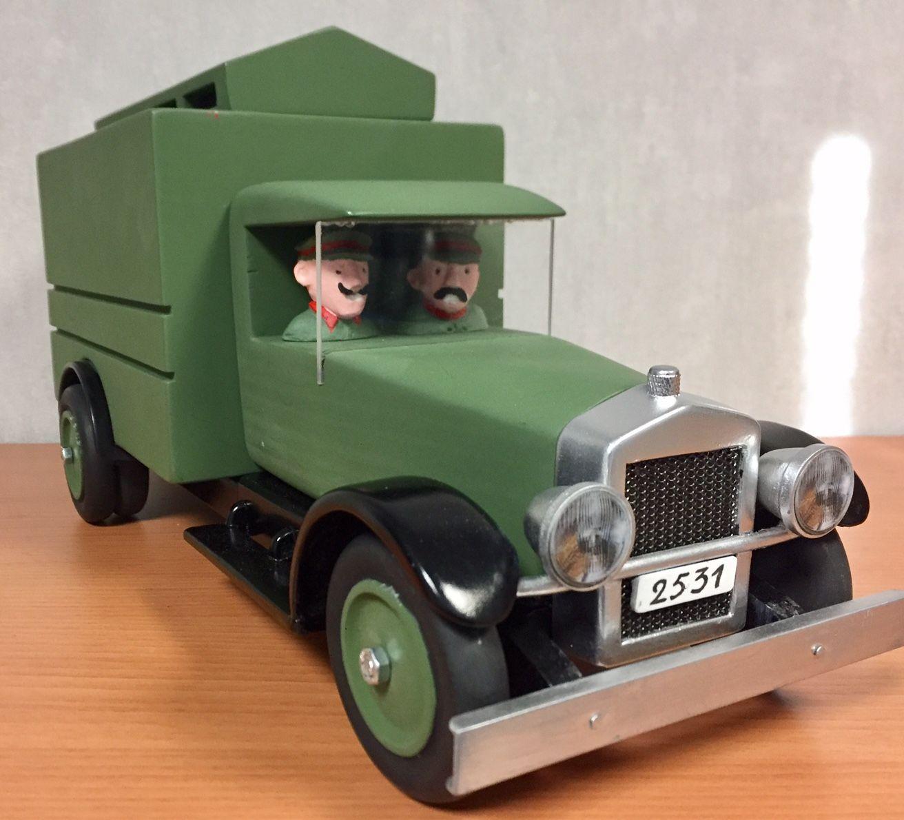 Prisonnier Sceptre Ottokar Prison Transport Tintin Camion hQBrdCtsx