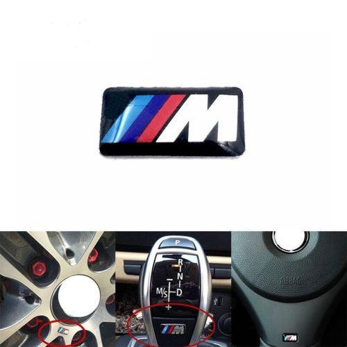 X Tec Sport Wheel Badge D M Emblem Sticker Decals Logo For - Bmw decals for wheels