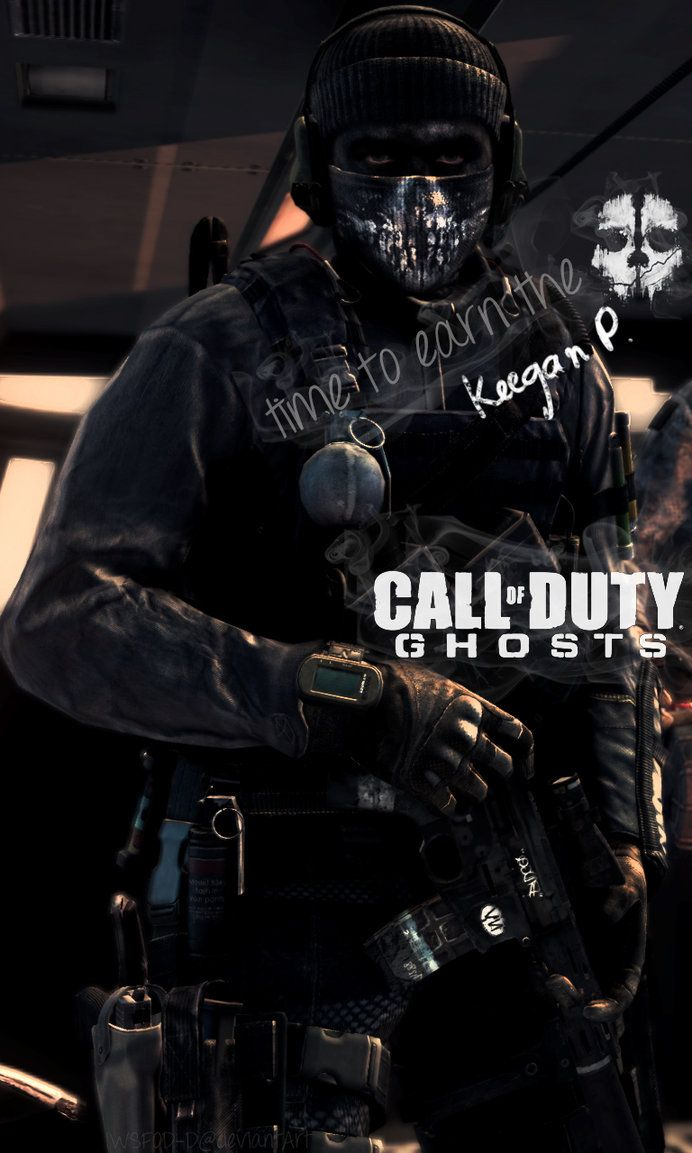 Call Of Duty Ghosts Keegan Phone Wallpaper By Iwsfod D
