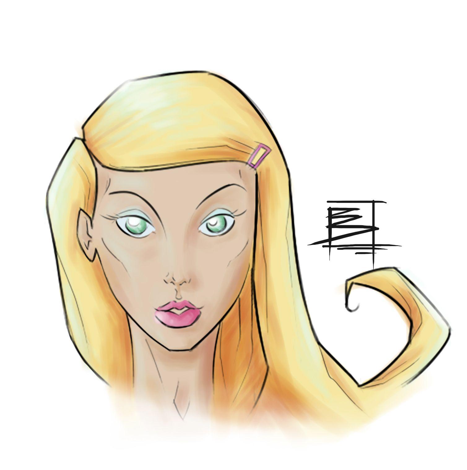 Karen in digital colors! Coloration training #1 with Manga Studio! #pin #pinoftheday #daredevil #netflix #colors #mangastudio #digital #portrait #girl #female #art #artoftheday #comics #tvseries