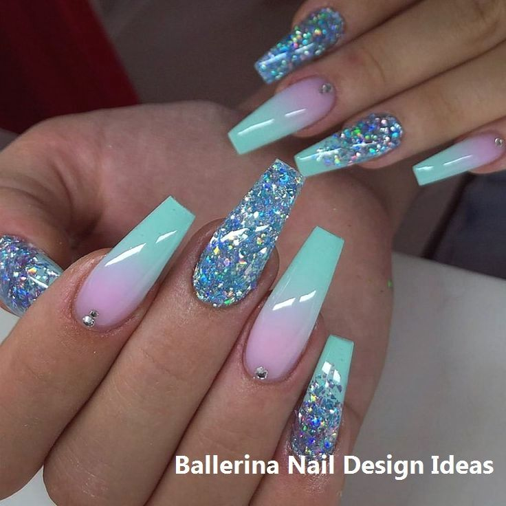 Nail art bailarina de moda 2019 #naildesigns – uñas – NailiDeasTrends