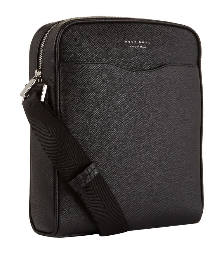 f9445787a59cd Accessories  Messenger Bags BOSS Signature Messenger Bag