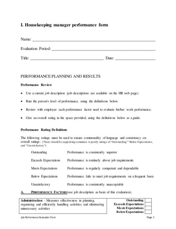 Self Performance Review Goals Examples template Pinterest Template - self review template