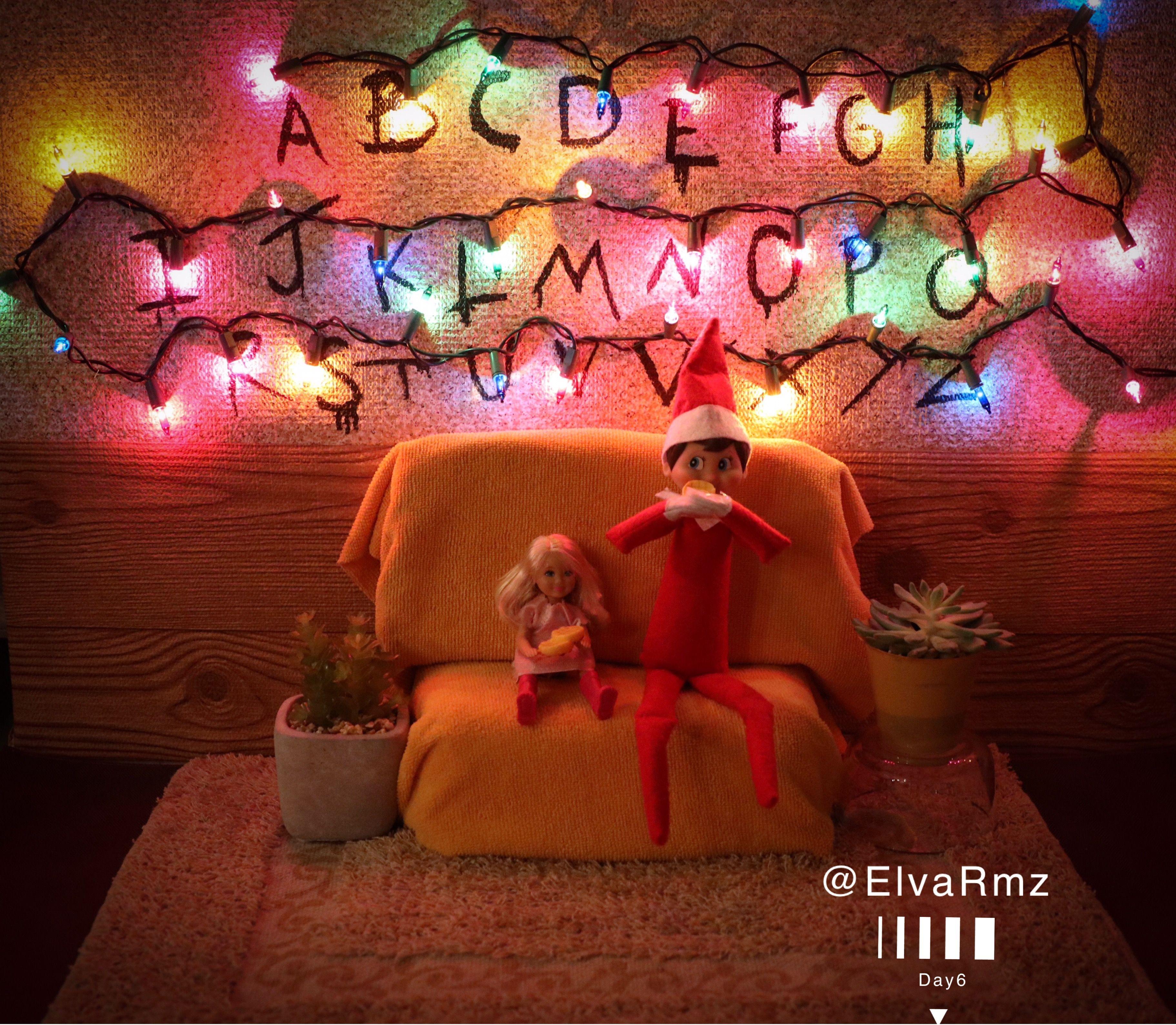 Stranger things Elf on the shelf | Elf on the Shelf | Pinterest