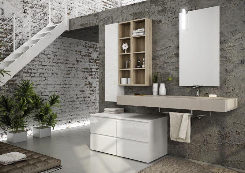 Moderne Badgestaltung Mit Grifflosen Fronten Moderne Badmobel Badezimmer Klein Badmobel Set