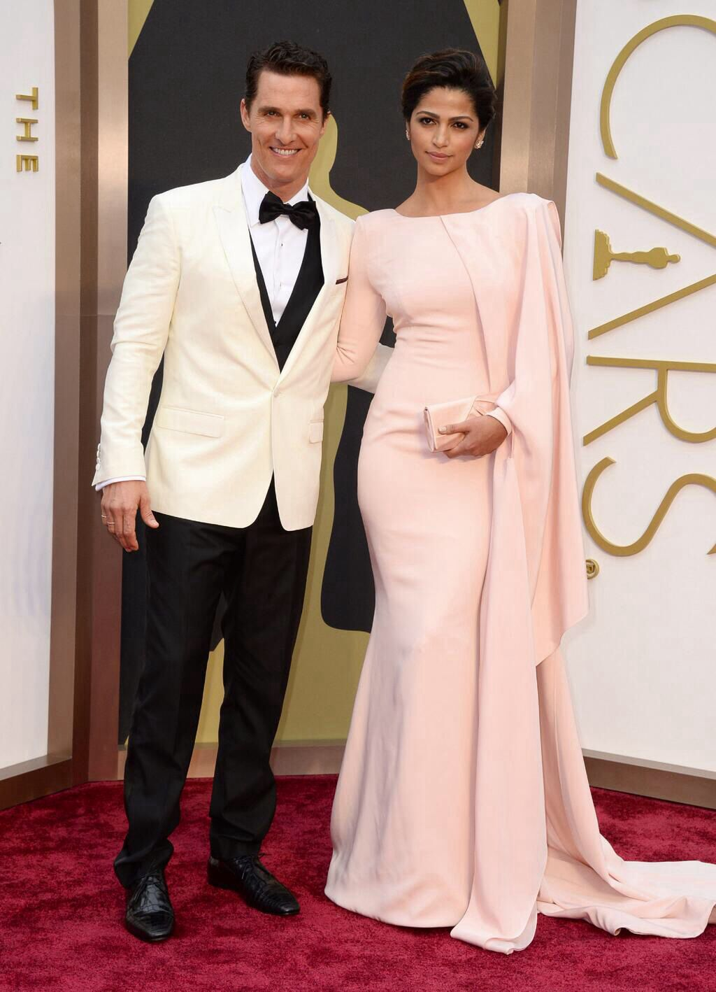 Camila Alves, pink gown.