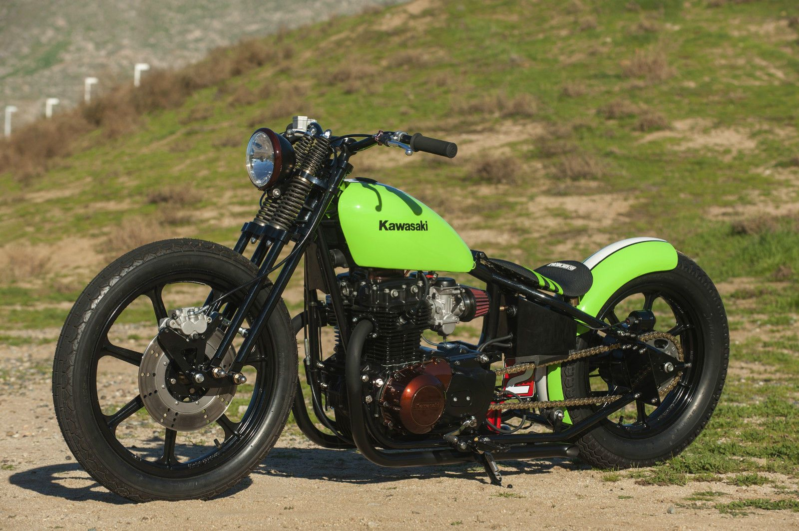 1981 Kawasaki KZ440 LTD Bobber | Metric customs | Bobber