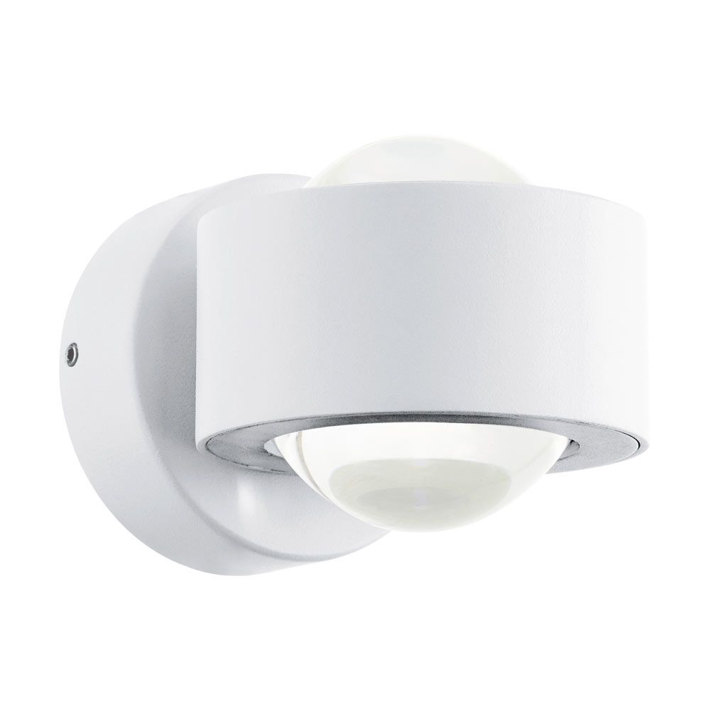 W149 Ono 2 White Eglo Led Lights Swing Arm Wall Light