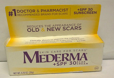 Cool Mederma Scar Cream Plus Spf 30 20 G Sealed For Sale Mederma Scar Cream Scar Cream Spf 30