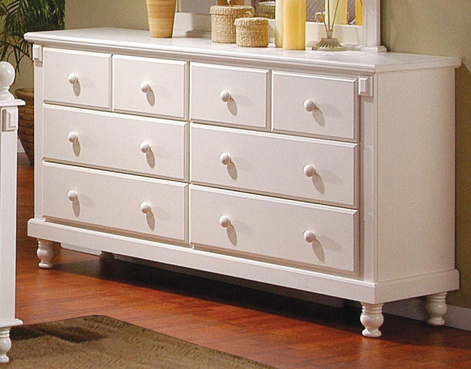 white dresser, but with different hardware, and a few accent details ...