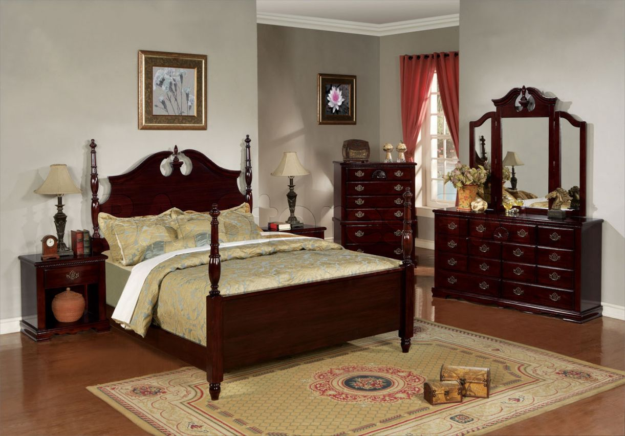 Solid Cherry Wood Bedroom Furniture - Interior Paint Colors 2017 ...