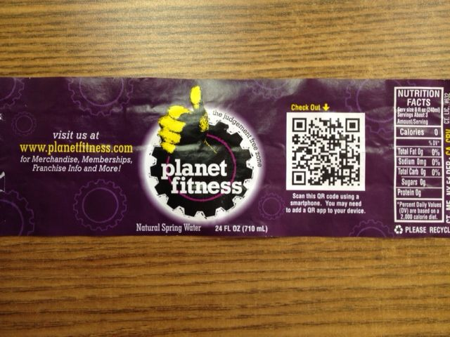 Here S How Planet Fitness Used Qr Codes To Engage The Mobile Audience Planet Fitness Workout Coding Qr Code