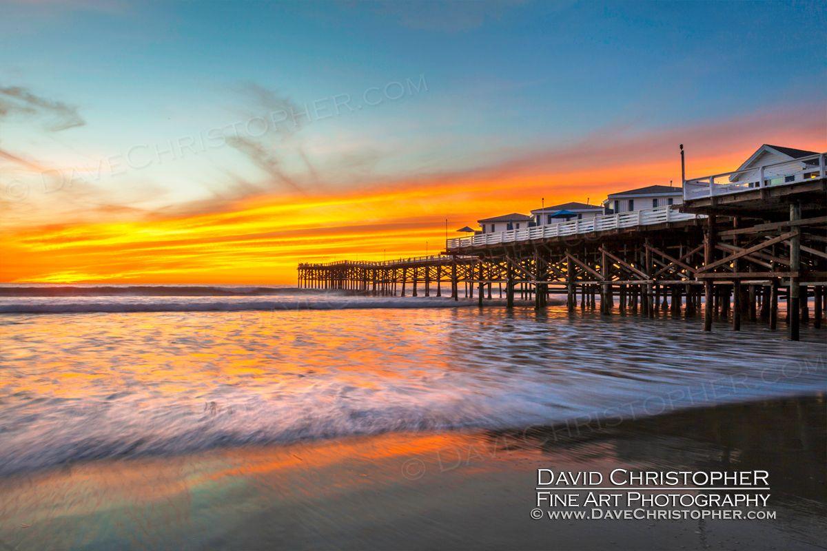 Crystal Pier Pacific Beach Landscape Photography By San Diego Landscape Photographer Da Landscape Photography Beautiful Landscape Photography Beach Landscape