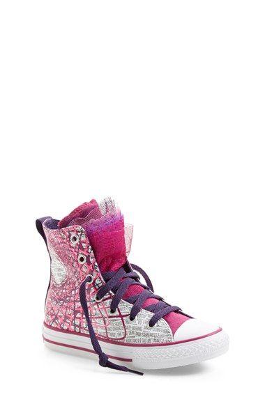 377e21ec836 Converse Chuck Taylor® All Star®  Party  High Top Sneaker (Baby ...
