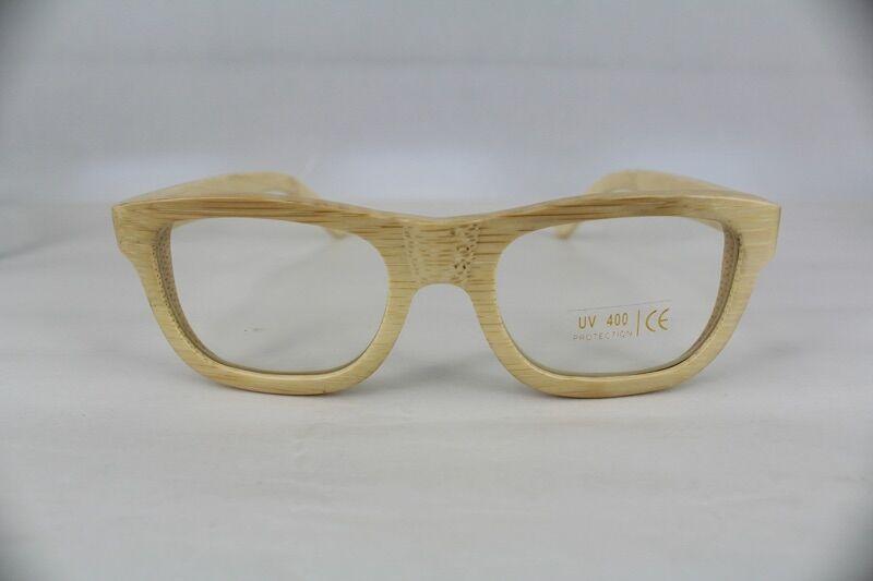 eb65fe673b Gafas de madera de bambú #soniapew mod. NATURAL graduables y personalizadas  por el cliente con un mensaje suyo en la varilla. www.soniapew.es