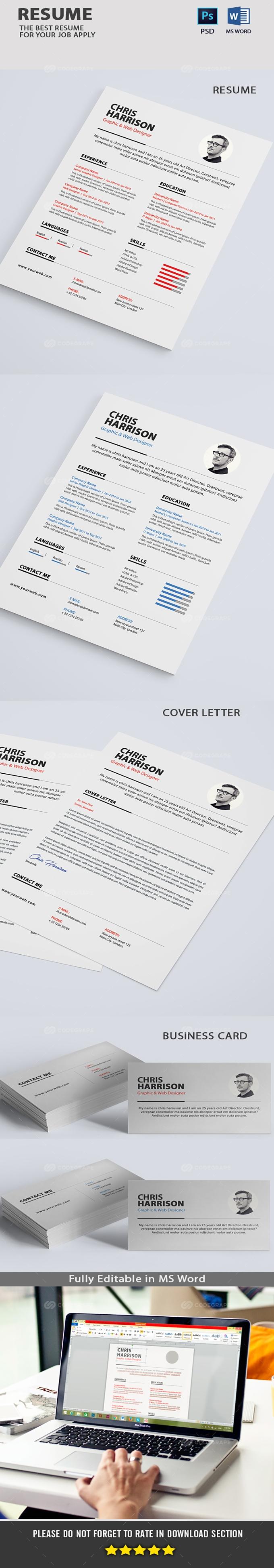 Clean Resume Clean Resume Template