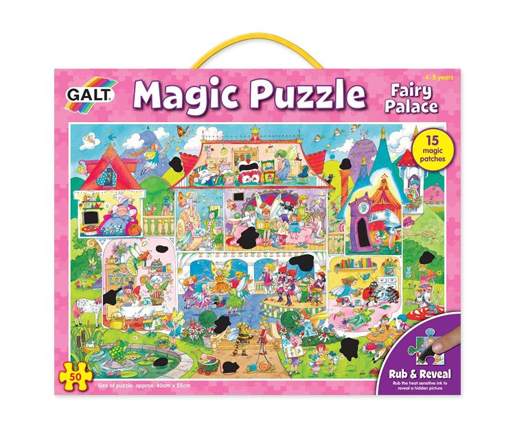 Puzzle mágico: El Palacio de las Hadas