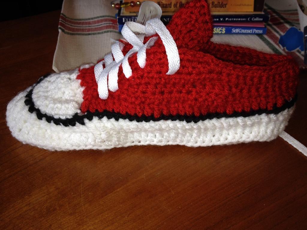 Converse Crochet Pattern Amazing Inspiration