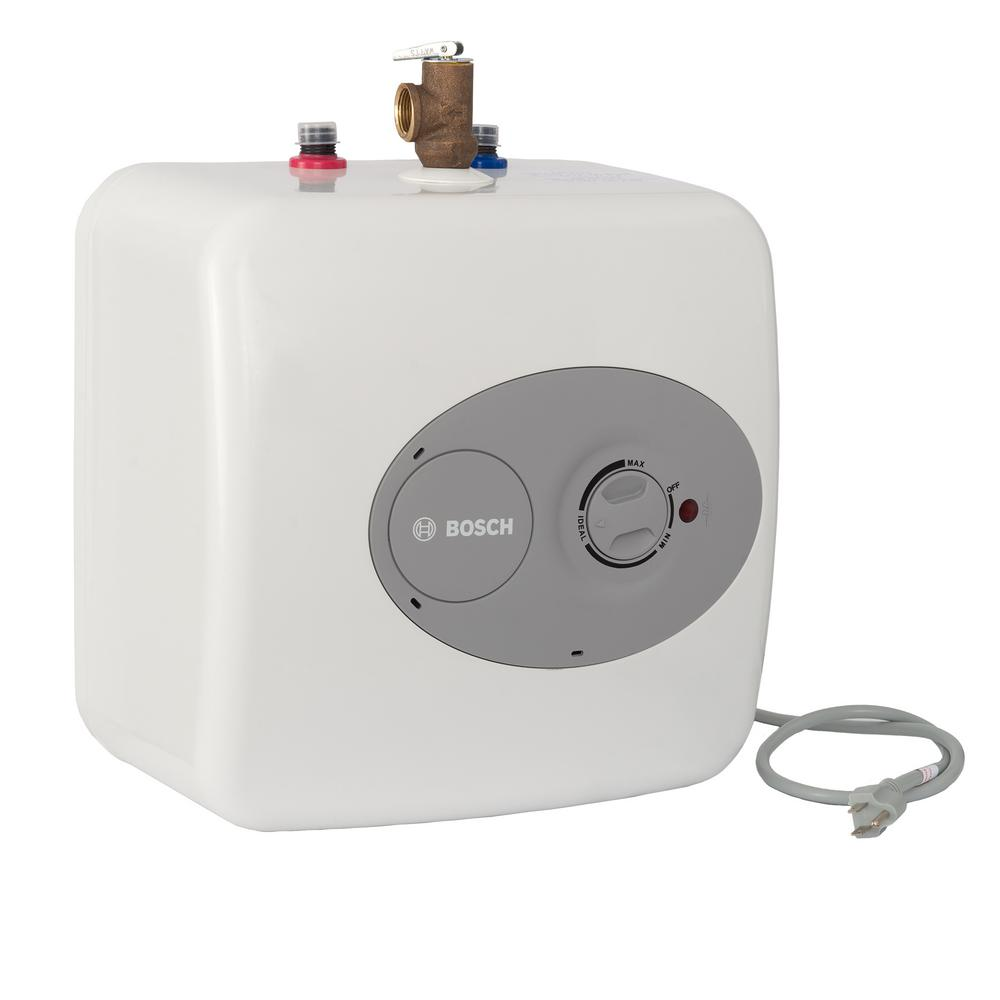 Bosch 4 Gal Mini Tank Electric Water Heater Es 4 Water Heating Hot Water Dispensers Under Sink