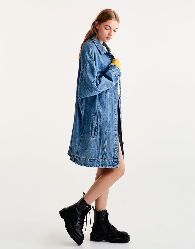 amp;bear Manteaux En Et Blousons Vêtements Femme Pull awqxZP61q