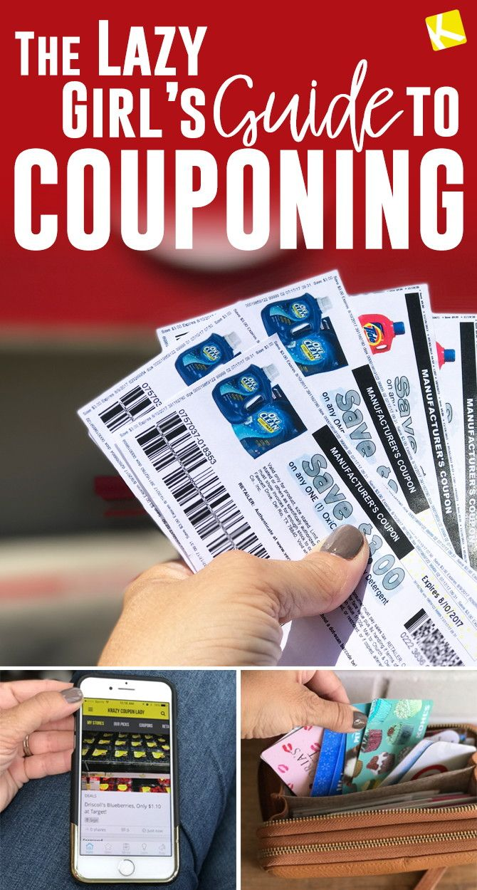 The Lazy Girl's Guide to Couponing #couponing