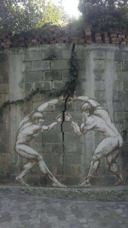 Arte callejero, Street Art, graffiti, #Pi