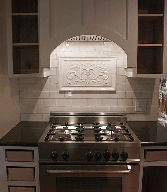 Gloss White Backsplash Mural Kitchen Backsplash Inspiration Kitchen Backsplash Designs Kitchen Backsplash