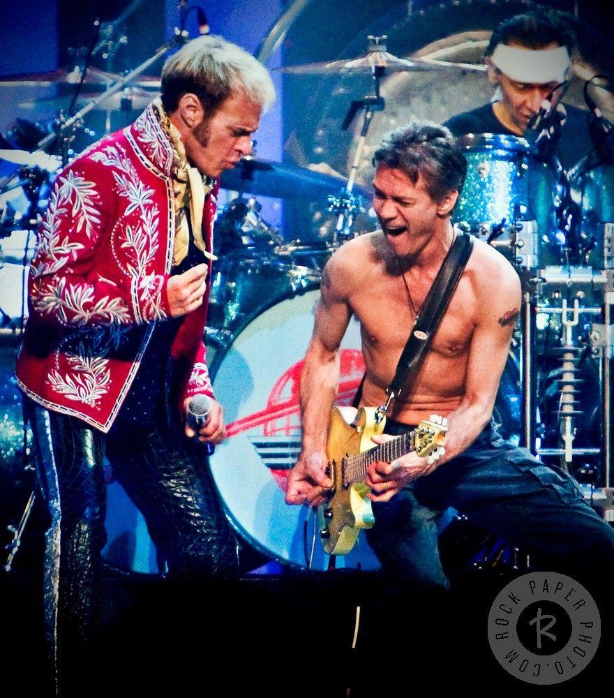 David Lee Roth Eddie Van Halen By Daniel Kramer Van Halen Eddie Van Halen David Lee Roth