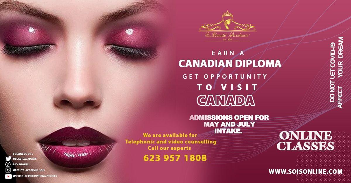 Earn Canadian Diploma International Education International Makeup Artist Canadian Makeup