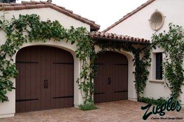 Eco Spanish Colonial Garage Doors Eclectic Garage Doors Garage Doors Spanish Style Homes