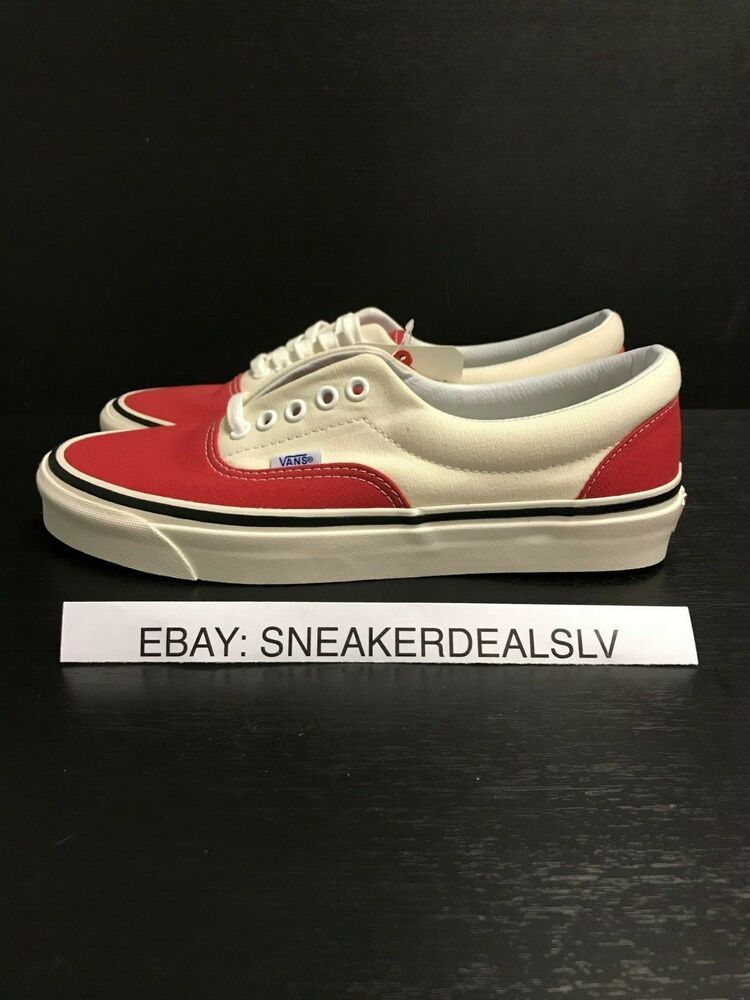 6bbca19032e814 VANS ERA 95 DX (ANAHEIM FACTORY) OG RED WHITE  fashion  clothing  shoes   accessories  mensshoes  athleticshoes (ebay link)
