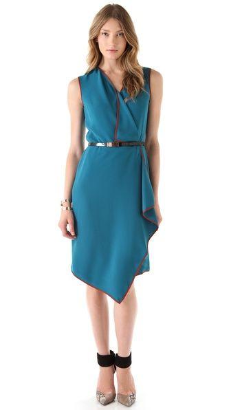 Rachel Roy Cascade Dress