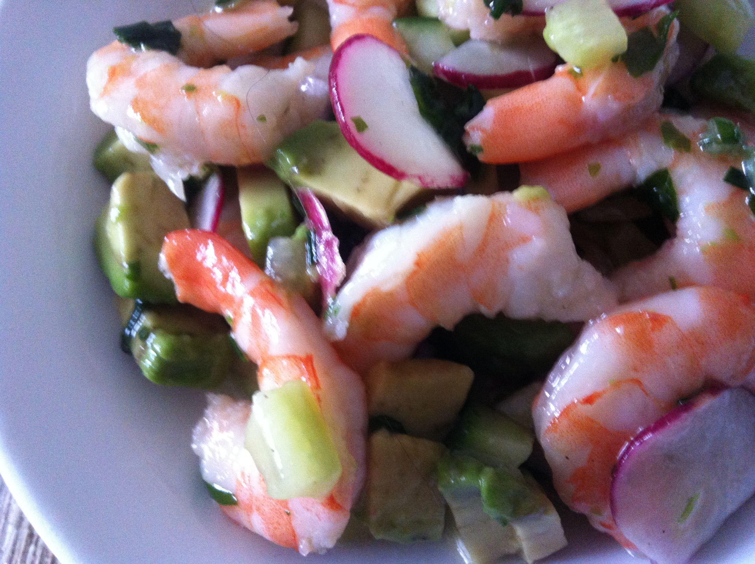 Shrimps-Radieschen