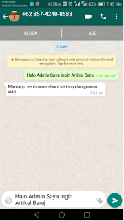 Cara Mudah Membuat Link Chat Whatsapp Lansung Sehingga Dapat Japri Wa Tanpa Menyimpan No Handphone Blog Tulisan