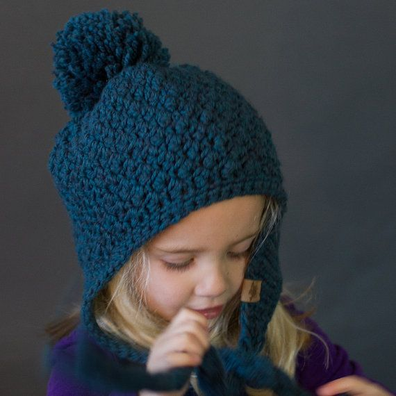 3f649603092 Crochet PATTERN Cumberland Ski Crochet Hat Pattern Includes Sizing for  Baby