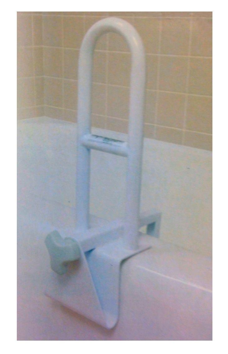 Bathtub safety rail white each sku mds86321w toilet