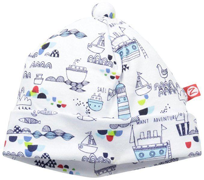 Amazon Com Zutano Baby Boys Newborn Dino City Hat Pagoda 3 Months Clothing Baby Boy Newborn Baby Boy Newborn