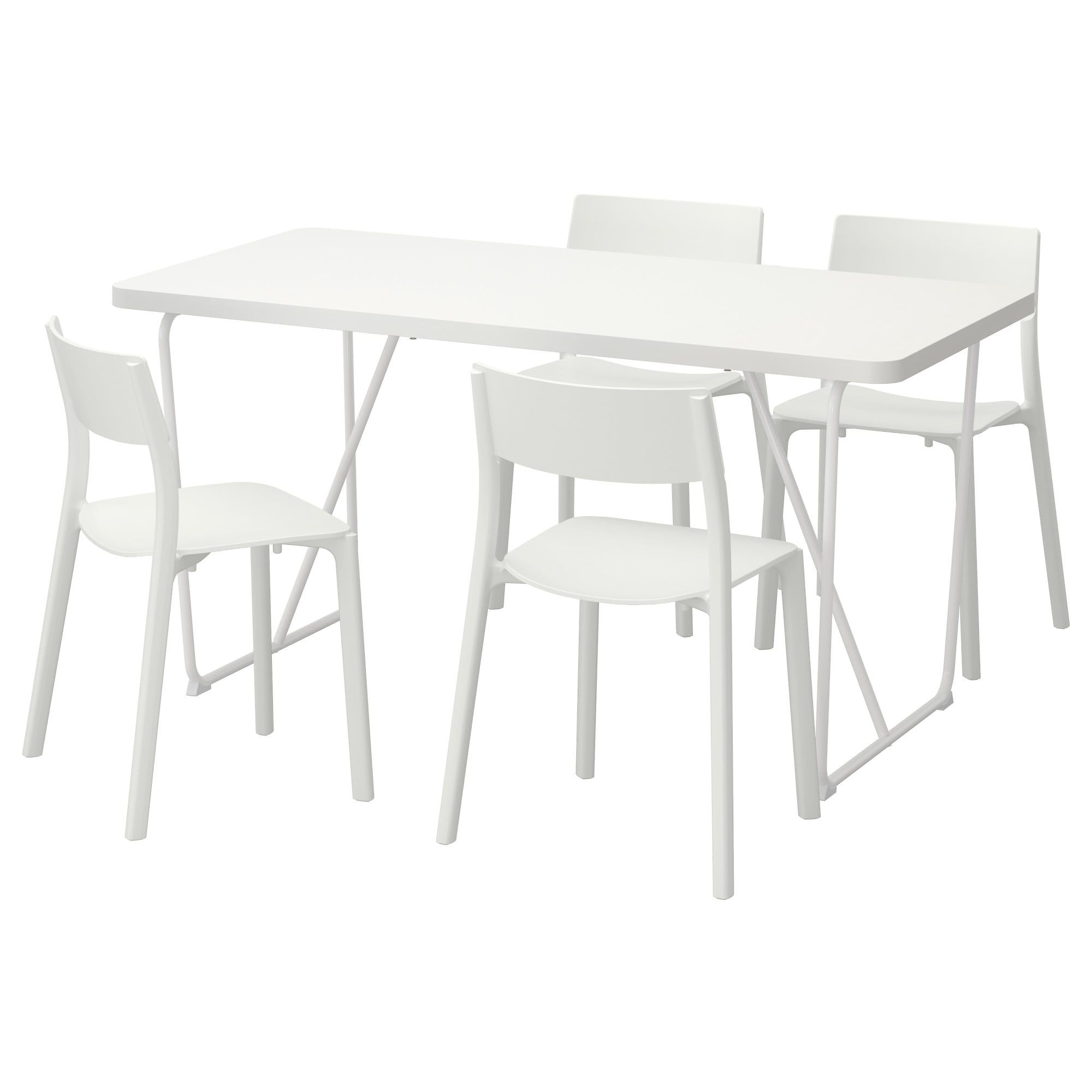 Rydeback Backaryd Janinge Table And 4 Chairs White White 59