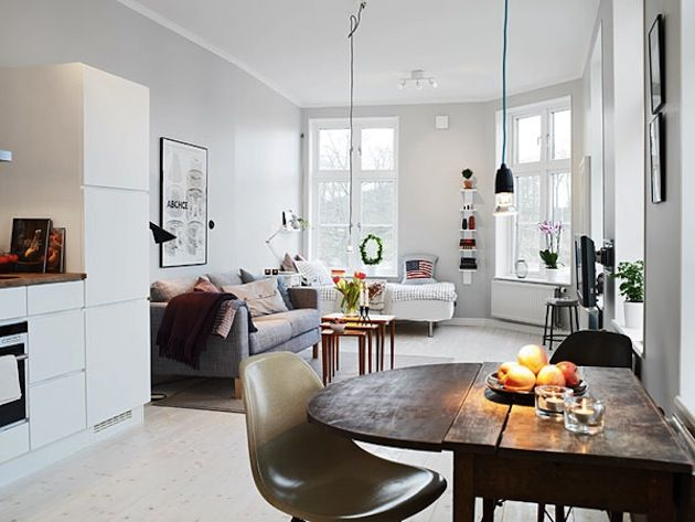 Great Studio Apartment Design Idea: Magnificent Studio Apartment ...