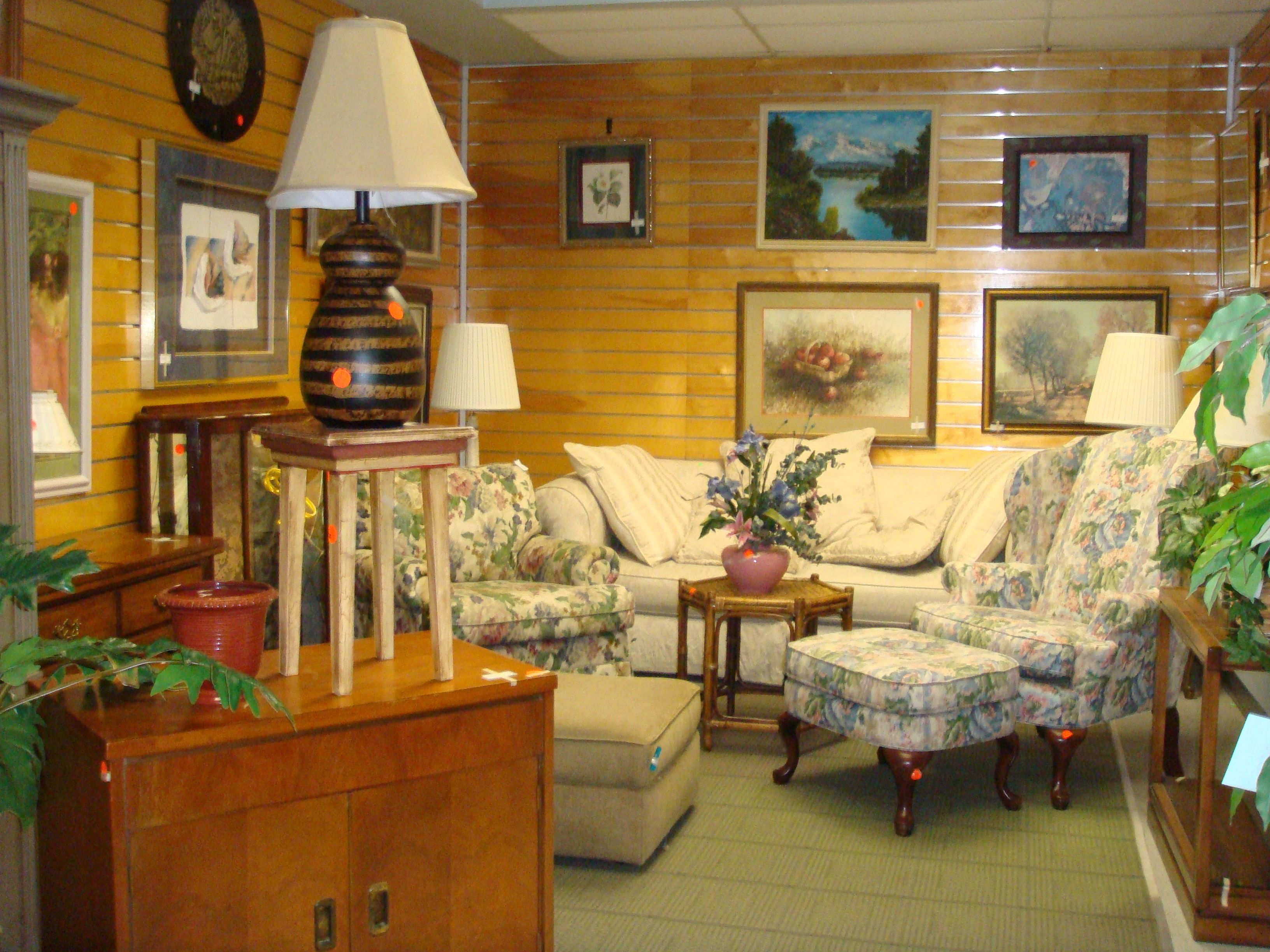 If you are looking for second hand furniture, housewares, wall art ...
