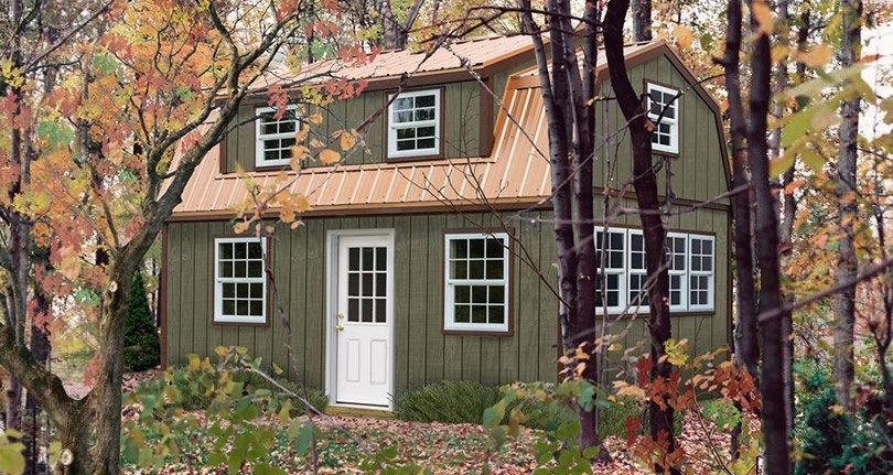Lakewood Shed Kit With Large Dormer Storage Shed Kits Shed To