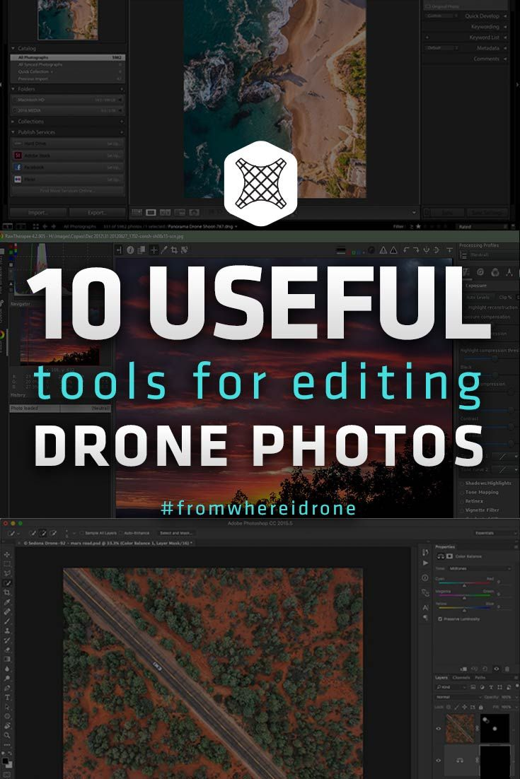 Diy Drone Software 10 Useful Tools For Editing Your Drone Photos On A Computer