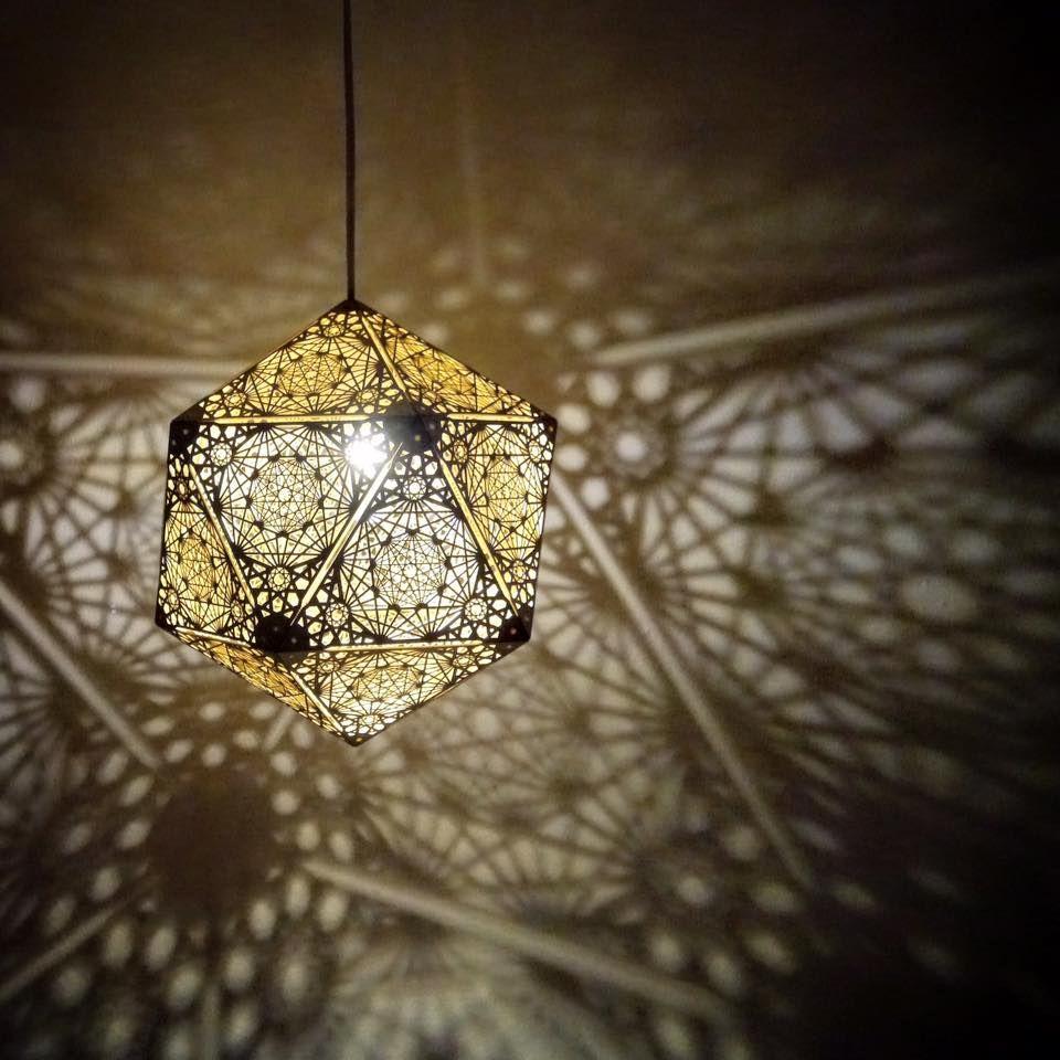 Fractal Pendant Lights: Cozo Sacred Geometry Lights And Sculptures