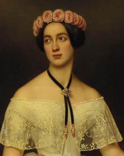 Elisabeth von Sachsen Altenburg, Joseph Stieler